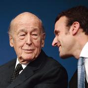 Emmanuel Macron-Valéry Giscard d'Estaing, si loin, si proches