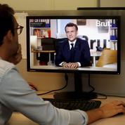 Emmanuel Macron tente la carte jeune