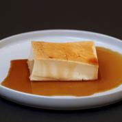 Les recettes d'Adrien Cachot: salade de pommes de terre, Saint-Jacques snackées, crème aux œufs