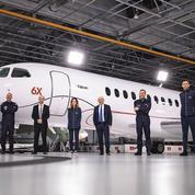 Dassault présente le 6X, son nouveau grand jet d'affaires