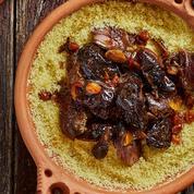 Les recettes de Nordine Labiadh: cappuccino de langoustines bretonnes, couscous d'effiloché d'agneau confit et pruneaux, délice de Tunis