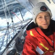 Vendée Globe: les mers du Sud «c'est un truc de fou», confie au Figaro Isabelle Joschke