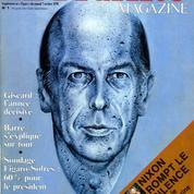 Quand Valéry Giscard d'Estaing s'exprimait dans Le Figaro Magazine