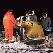 Échantillons lunaires: l'exploit de la Chine