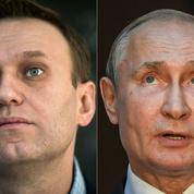 Comment Navalny et Poutine mènent leur duel à distance