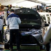 Brexit: Toyota pénalisé par la fermeture de la frontière franco-anglaise