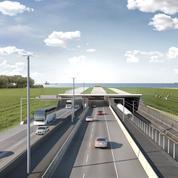 Le chantier du tunnel le plus long au monde au Danemark