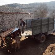 Chournoukh, village balafré par la frontière entre l'Arménie et l'Azerbaïdjan