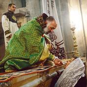 Haut-Karabagh: au monastère de Gandzasar, première messe de Noël après la défaite