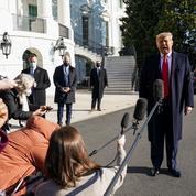 Donald Trump appelle ses partisans au calme
