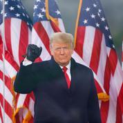 Comment Donald Trump a assisté imperturbable à l'assaut du Capitole