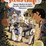 Une bande dessinée croque le monde des chefs étoilés