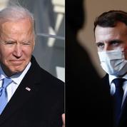 Avec Joe Biden, Emmanuel Macron gagne un «ami» sans se faire d'illusions