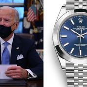 Désormais président des États-Unis, Joe Biden s'offre une Rolex
