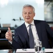 Bruno Le Maire: «Nous ne souhaitons pas d'augmentation d'impôts»