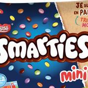 Smarties passe du plastique au papier pour ses iconiques billes de chocolat