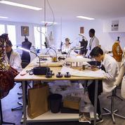 L'atelier Renaissance, la réinsertion par la couture