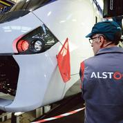 Le contrat des rames de RER B sur une voie de garage
