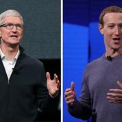 Apple et Facebook, de l'inimitié à la guerre