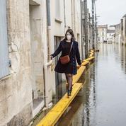 En Charente-Maritime, Saintes connaît une crue historique