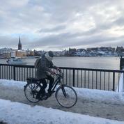 À Stockholm, le vélo par tous les temps
