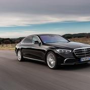 Mercedes Classe S, la voiture préférée du boss
