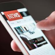 Forte hausse de la diffusion numérique de la presse en 2020