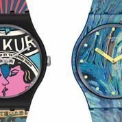 Van Gogh, Klimt, Mondrian… Swatch vous offre le Moma