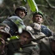 Sylvain Tesson dans la jungle avec les bérets verts de la Légion étrangère