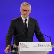 Relance: Le Maire défend le calibre du plan français