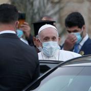 Visite du pape François: les premiers pas d'un «pénitent» venu «pour la paix en Irak»