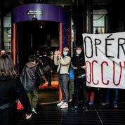 L'opéra de Lyon occupé par une cinquantaine d'étudiants en arts