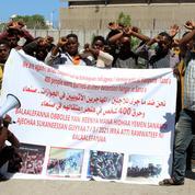 Guerre au Yémen: 44 Éthiopiens meurent brûlés dans un camp pour migrants