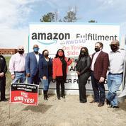 Amazon face à la «menace» d'un premier syndicat aux États-Unis
