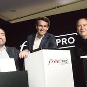 Free défie Orange et SFR sur le marché des télécoms pour les entreprises