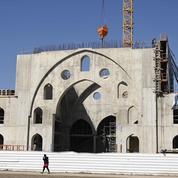 Dans une zone industrielle, le chantier de «la plus grande mosquée d'Europe»