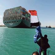 Au canal de Suez, le soulagement de toute l'Égypte après la reprise du trafic maritime