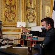 En visio avec des collégiens, Macron pense qu'il ne devrait pas y avoir de «nouveau confinement d'ici la fin de l'année scolaire»