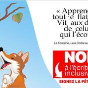 Une pétition contre l'écriture inclusive, adressée à Blanquer, dépasse les 25.000 signatures