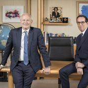 Les confidences de l'ancien et du nouveau patron de L'Oréal au Figaro