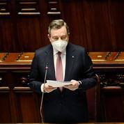 Relance: Mario Draghi présente son plan au Parlement