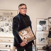 Pierre Passebon, le galeriste fou de BD