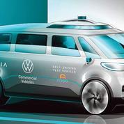 Volkswagen se projette dans la conduite autonome