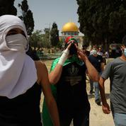 À l'origine d'un embrasement, les tensions autour de la mosquée al-Aqsa