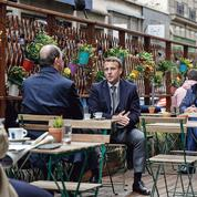 Macron se met au diapason du pays