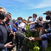 Régionales: en Occitanie, Marine Le Pen veut voir la poussée du RN se confirmer