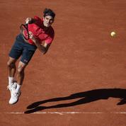 Roland-Garros: Roger Federer, l'ombre de la dernière danse