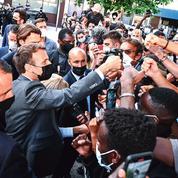 Après la gifle, Emmanuel Macron veut repartir de l'avant