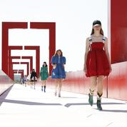 Louis Vuitton en tournage à Cergy-Pontoise