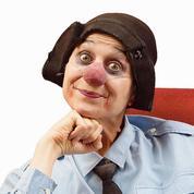 Emma la clown, adepte du rire ensemble